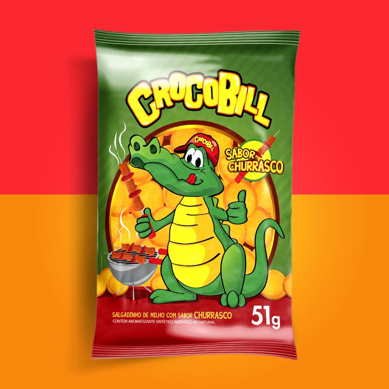 Crocobill Queijo Churrasco