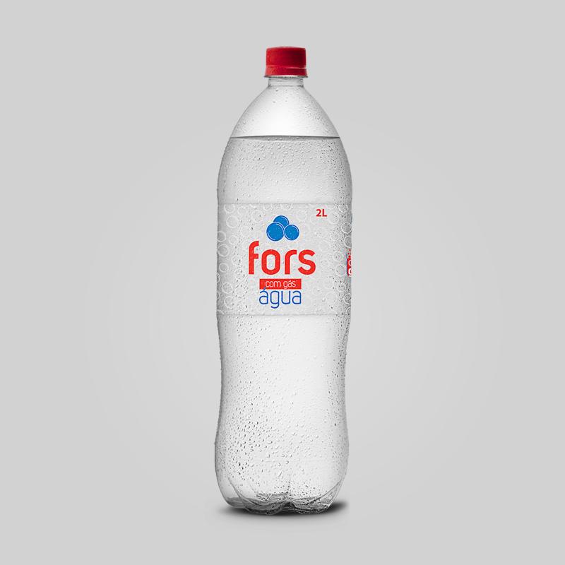 Fors Água com Gás 2L