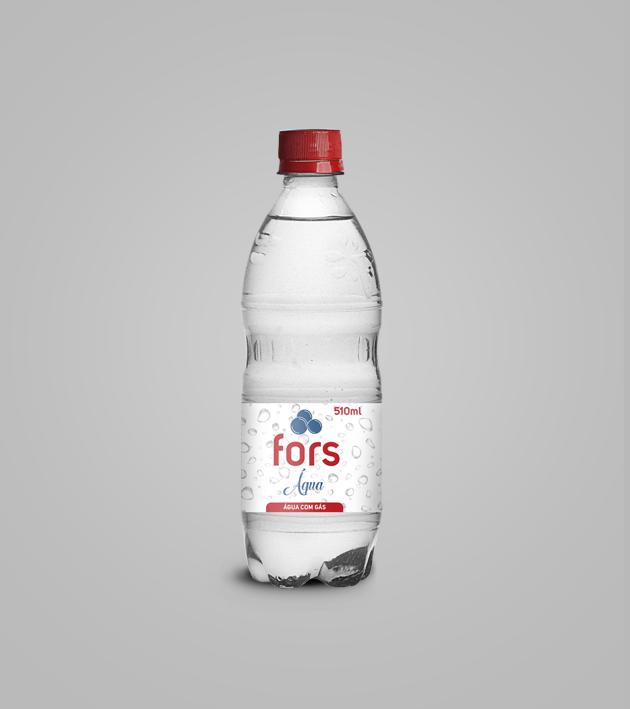 Fors Água com gás 510 ml